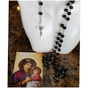 Beautiful Blessed Rosary Beads from Italy